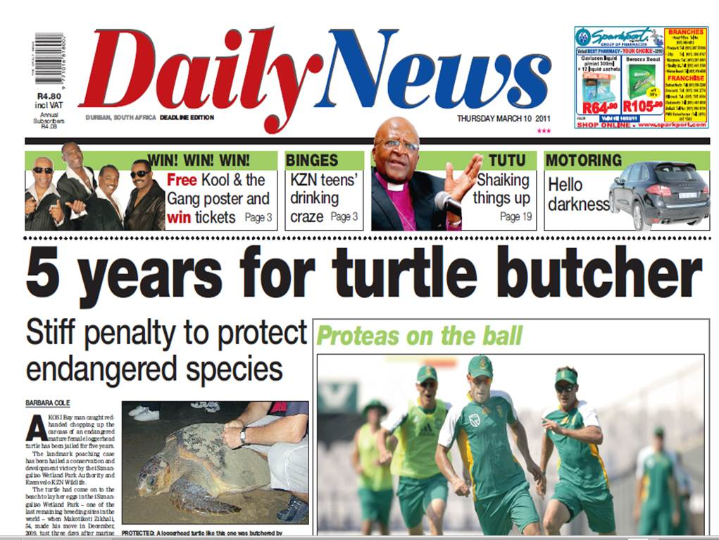 Five years for Turtle Butcher